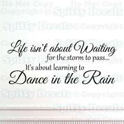 Wall Sticker Dance in The Rain