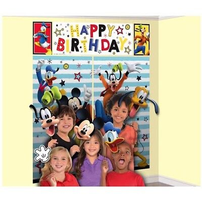 Mickey Scene Setter (MICKEY MOUSE On the Go SCENE SETTER w/ PROPS (17pc) ~ Birthday Party)