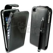 Flip Leather Case Cover Pouch for iPhone 4S