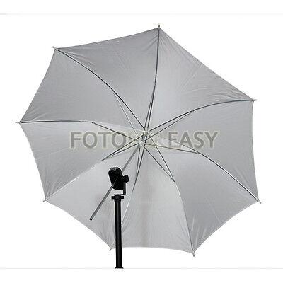 "33"" 83cm Photo Studio Video Flash Light Soft Diffuser Translucent White Umbrella"