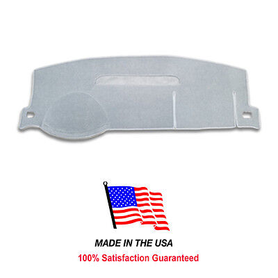 2008-2014 Chevy Tahoe Light Gray Carpet Dash Cover Mat Pad CH83-1