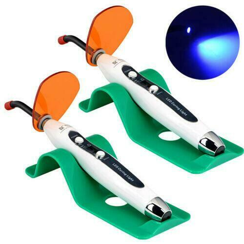 2PCS Dental 5W LED Wired & Wireless Curing Light 1500mw for Dentist US STOCK