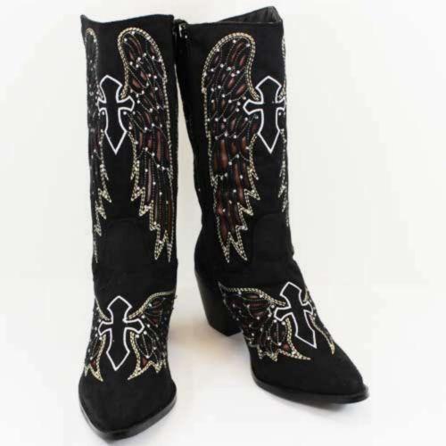 Rhinestone Boots Ebay