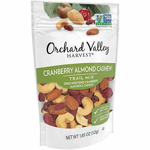 Orchard Valley Harvest Cranberry Almond Cashew Trail Mix, 1.85 oz (Pack of 14)