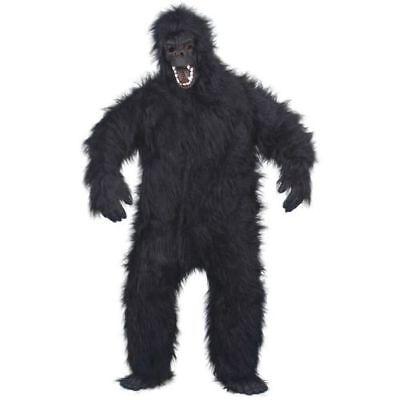 Smi - Halloween Herren Kostüm böser Gorilla als Affe zu Karneval Fasching