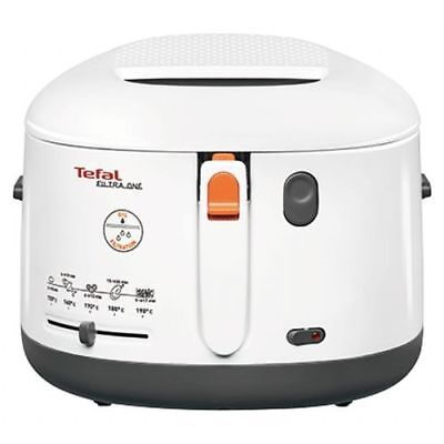 Tefal 2.2 Quart Cool Touch Deep Fryer White FF165151