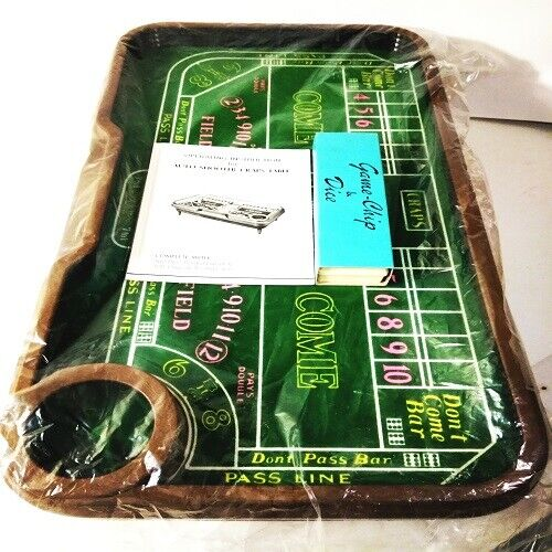 Auto-Shooter Craps Table w/Automatic Dice Roller (NICE!!!)