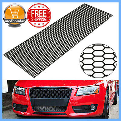 Abs Plastic Grille - 120X40cm ABS Plastic Car Styling Air Intake Racing Honeycomb Meshed Grille Spoil