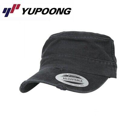 Yupoong TopGun Destroyerd Armycap Uni/One Size Schwarz