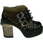 High (3 in. to 4.5 in.) Booties Textured Heels for Women