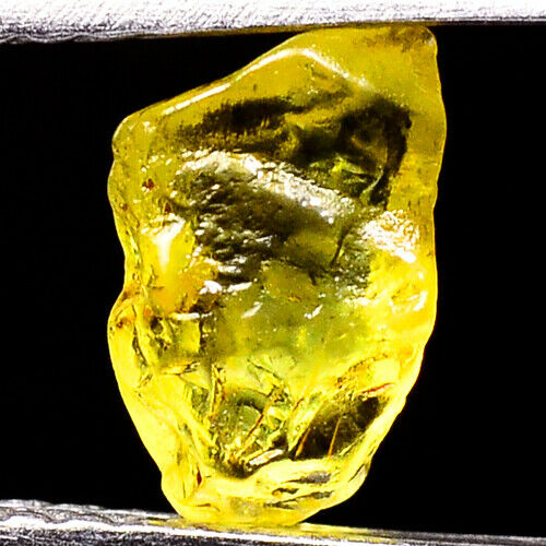 TOP IF FLAWLESS 0.80ct NATURAL100% UNHEATED CHRYSOBERYL ROUGH FACET NR!