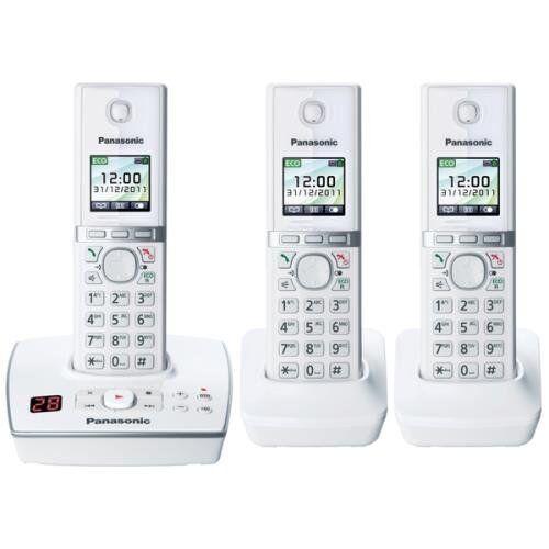 Panasonic Cordless Phone Answer Machine Landline House Telep