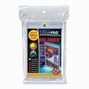 Ultra Pro ONE-TOUCH card holders ..... 360 POINT ..... BOX OF 12