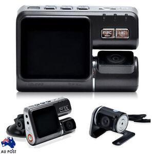 Dual Lens Car Vehicle DVR Camera Dashboard Video Recorder Cam G-sensor HD 1080P