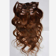 Clip in Human Hair Extensions Wavy