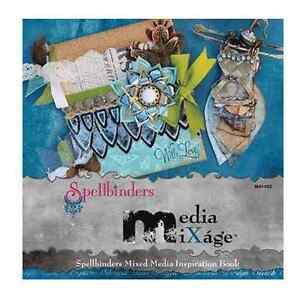Spellbinder Media Mixage Book - Mixed Media Inspiration