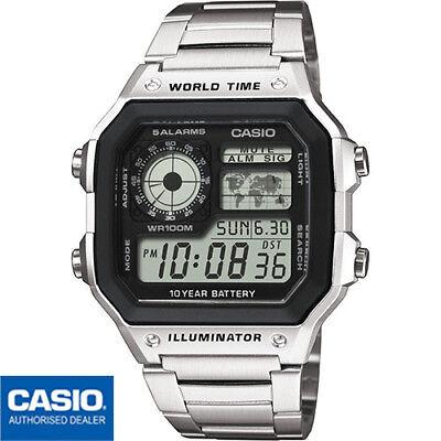 CASIO AE-1200WHD-1AVEF⎪AE-1200WHD-1A⎪ORIGINAL⎪CASIO Collection Men⎪CASIO ROYALE