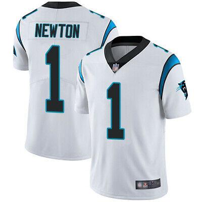 Newton camiseta de la NFL Panthers color blanca.Tallas S,M,L,XL,2XL,3XL.
