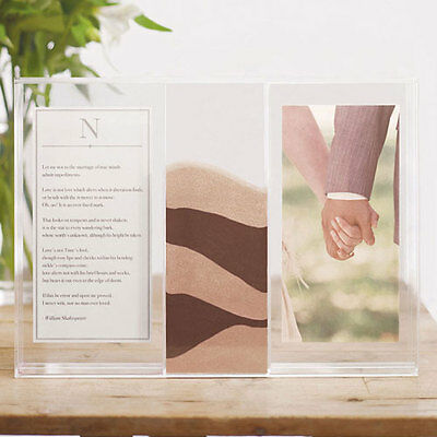 Wedding Unity Sand Ceremony Clearly Love Shadow Box With Sand (Unity Sand Shadow Box)