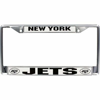 New York Jets Metal License Plate Frame Chrome Color FAST USA SHIPPING New York Usa Framed