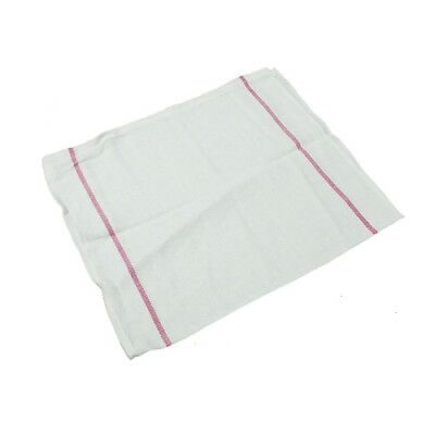 Rr Cr31505 Red Stripe Herringbone Towel 15 X 26 12-pack