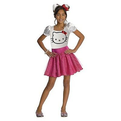 NEW Hello Kitty Girl Dress Up Costume Child Size Small 4-6 years FREE Shipping!](Hello Kitty Girl Costume)