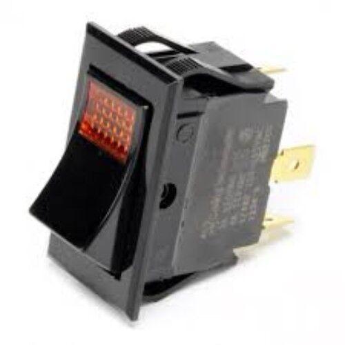 Bunn 02753.0000 On/Off LIghted Amber Switch 120V