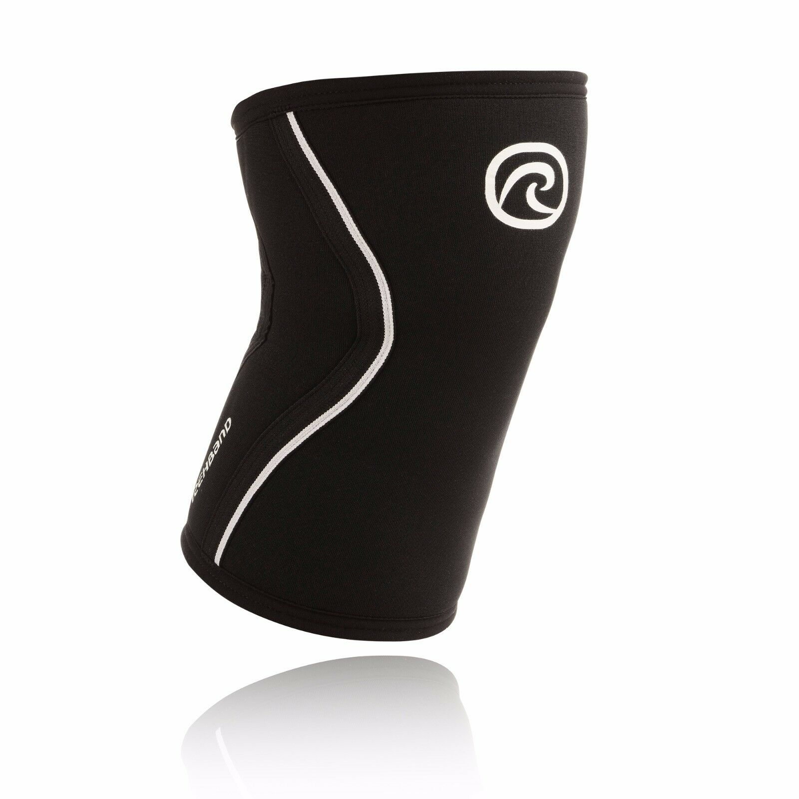 Rehband 105406 Rx Knee Sleeve - Black, 7mm