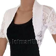 Womens White Cardigan