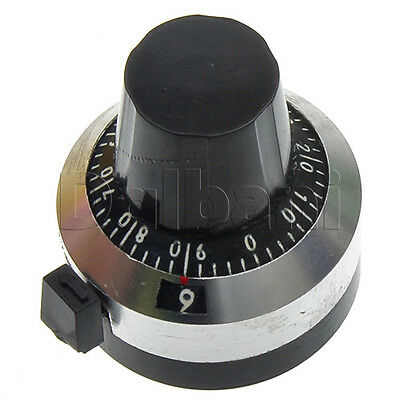 Xsn-iii-6.35 Turn Counting Dial For Rotary Multi-turn Potentiometer Trimpot