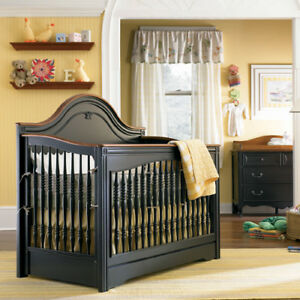 Young America Baby crib with drawer (Marcella) Cherry Wood