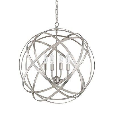 Capital Lighting 4234Bn  4 Light Axis Pendant Fixture With Brushed Nickel Finish