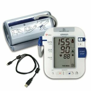 Portable Omron HEM-790IT Automatic Blood Pressure Monitor