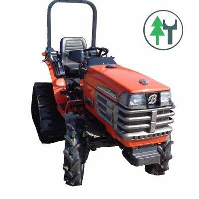 Traktor Kubota GB180 Granbia Allrad Raupenlaufwerk gebr. überholt neu lackiert - Kubota