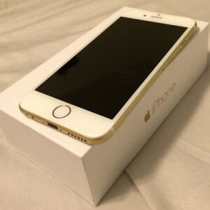 Iphone 6 - Gold, 16gb Mint condition - unlocked