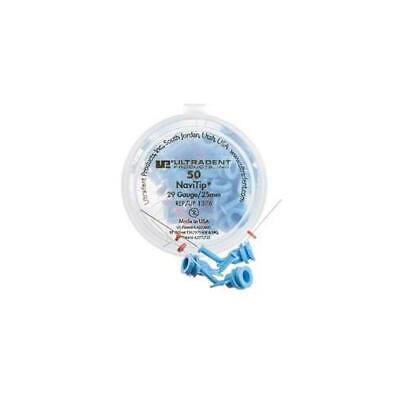Ultradent 1376 Navitip Delivery Tips 29 Gauge 25mm Blue 50pk