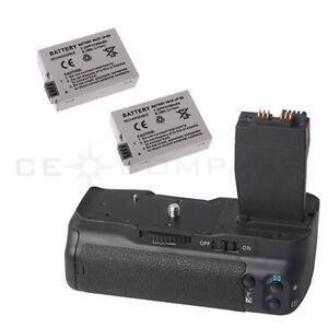 Battery-Grip-For-Canon-EOS-550D-600D-BG-E8-Rebel-T2i-T3i-SLR-2-LP-E8-Batteries