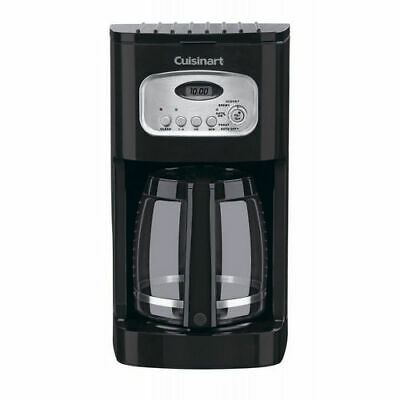 Cuisinart DCC-1100BK 12-Cup Programmable Coffeemaker, Black (Refurbished)