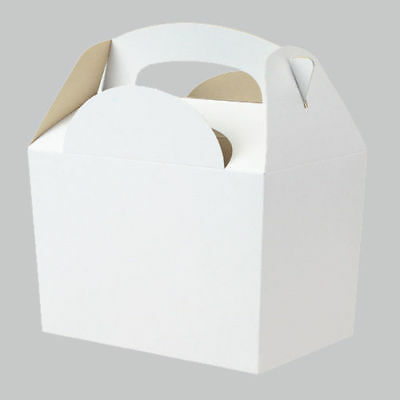 White Party Box - Great for Baby Showers, Gift Box, Wedding Favours, Parties