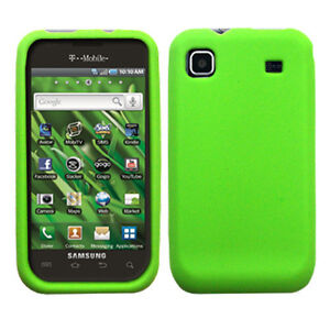 Silicone Soft Rubber Cover Case for Samsung Vibrant T959 / Galaxy S 4G T959V