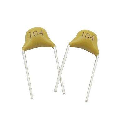 1002005001000pcs New 100nf 0.1uf 104 50v Monolithic Ceramic Chip Capacitor