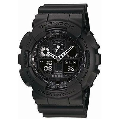 Casio GA100-1A1 Men's G-Shock Black Resin Strap Ana-Digital Watch comprar usado  Enviando para Brazil
