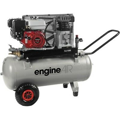 ABAC Pro Engine Air 100ltr Petrol  Compressor Fitted Honda GX160 Engine