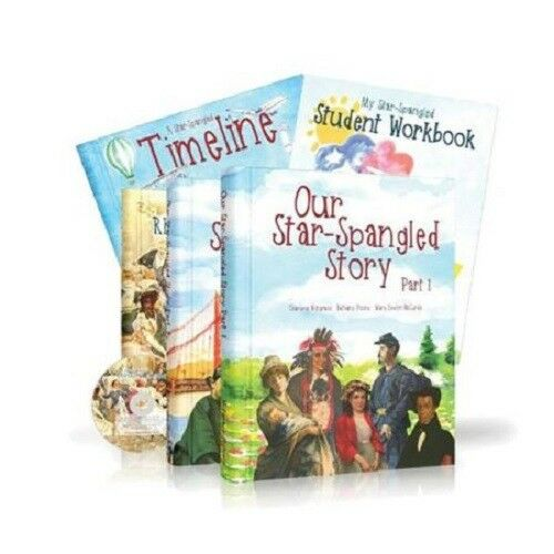 Notgrass Our Star-Spangled Story Curriculum Package Elementary Grade 1-4 History