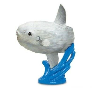 Sunfish With Stand 4  Tall Wild Safari Sea Life Figure  200529 Safari Ltd  Nib