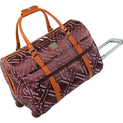 "Diane Von Furstenberg Modern Tile 20"" Wheeled City Bag on Rummage"