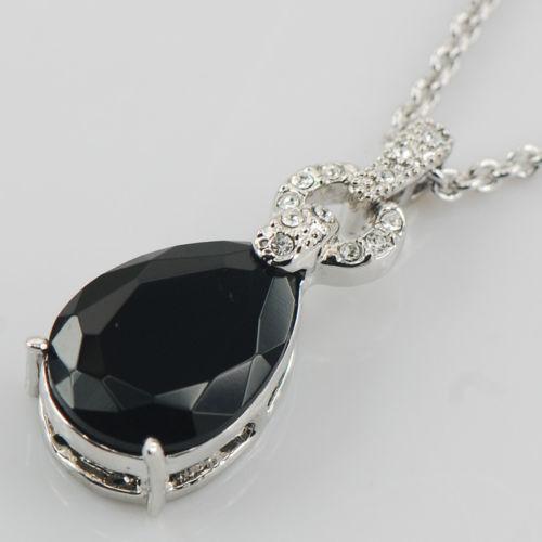 Sterling Silver Black Onyx Pendant Ebay