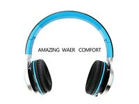 Headphones,BienSound HW50 Stereo Folding Headsets Strong Low Bass Headphones with Microphone