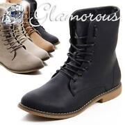 New Boots Schnürboots Schnürschuhe Stiefeletten Stiefel Schnürer Damen Schuhe