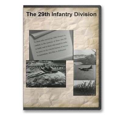 The 29th Infantry Division WWII Normandy Big Picture Documentary DVD A797